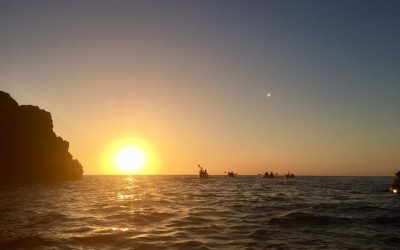 Discovering Ibiza #3 – Benirrás sunset kayaking