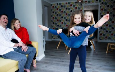 Kidderminster Family Photography : At Home With the W Sisters