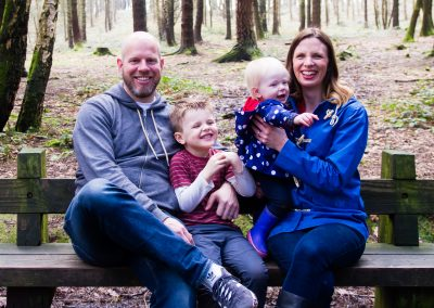 Family Photo Session in the Wyre Forest